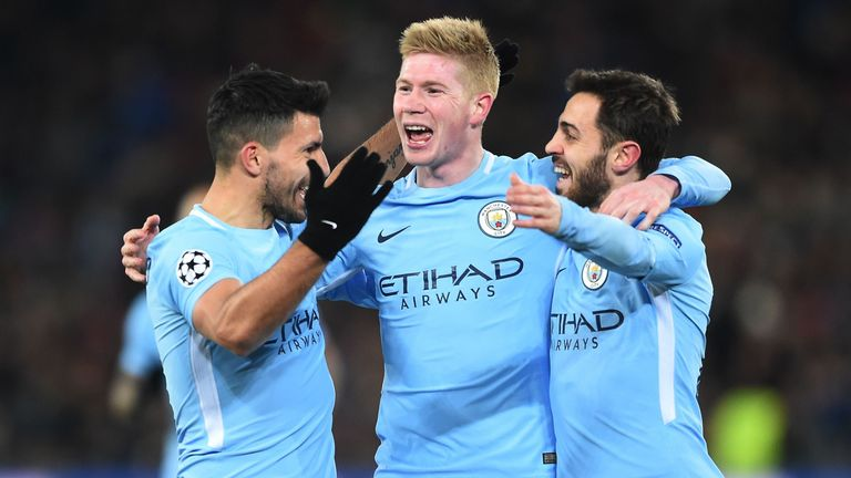 De Bruyne has seven goals and 15 assists in the Premier League