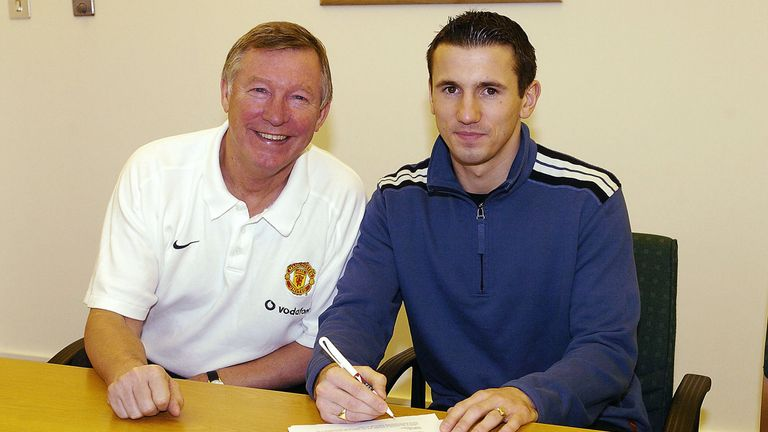 Sir Alex Ferguson signed Liam Miller for Manchester United in 2004