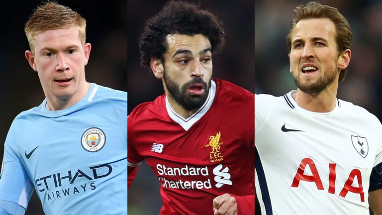 Salah, De Bruyne, Silva, Sane and De Gea nominated for PFA