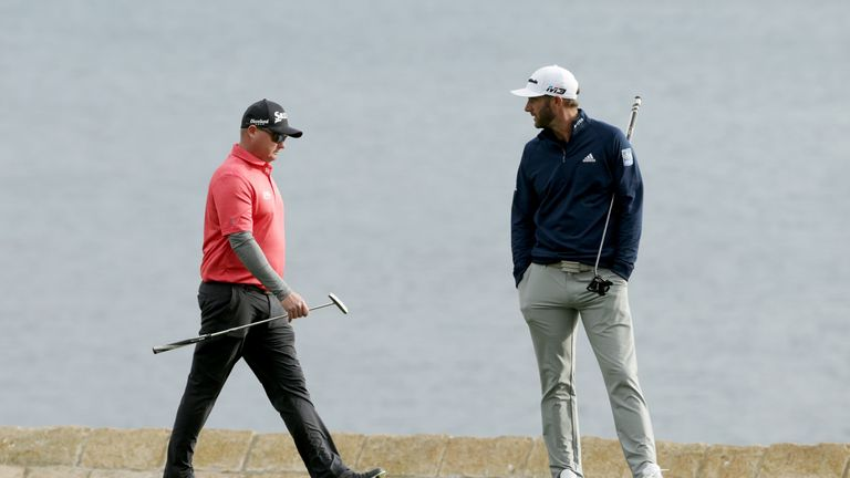Potter Jr and Johnson were part of the final group on Sunday