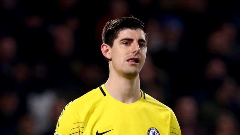Thibaut Courtois is reportedly being chased by Real Madrid