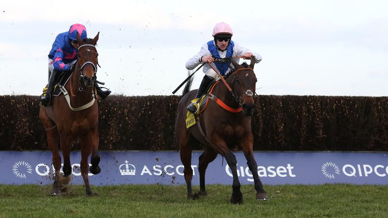 Cue Card (left): Retired after glittering career
