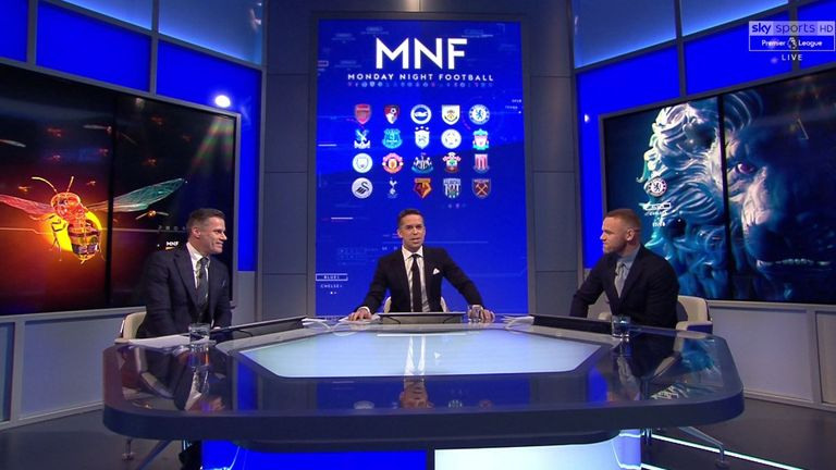 Sky Sports' Monday Night Football has continued to provide cutting-edge analysis with big-name guests including Wayne Rooney