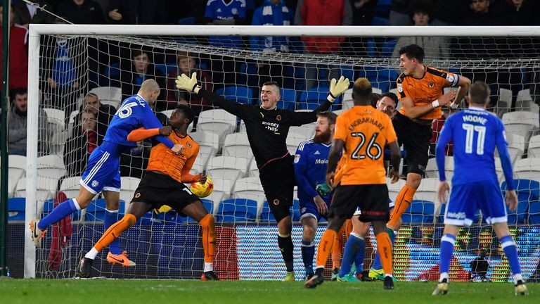 Wolves and Cardiff are battling it out at the top of the Championship