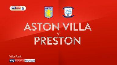 Aston Villa 1-1 Preston