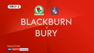 Blackburn 2-0 Bury