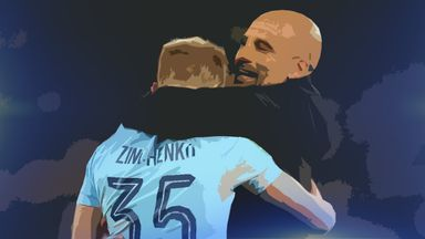 fifa live scores - Oleksandr Zinchenko getting his opportunity at Manchester City