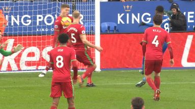 fifa live scores - WATCH: Swansea City's Alfie Mawson makes sensational goal-line clearance to deny Leicester City