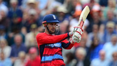 Alex Hales has signed a white-ball only deal with Nottinghamshire until the end of 2019