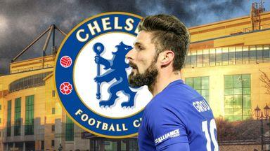 fifa live scores - Chelsea strikers Olivier Giroud and Alvaro Morata compared