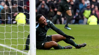 fifa live scores - Watch Raheem Sterling's shocking miss in Man City's 1-1 draw with Burnley