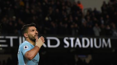 fifa live scores - Sergio Aguero backed to outscore Harry Kane and Mohamed Salah by Tony Cottee
