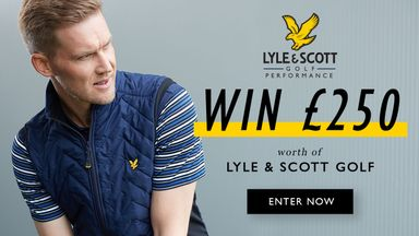Win £250 of Lyle and Scott golf clothing