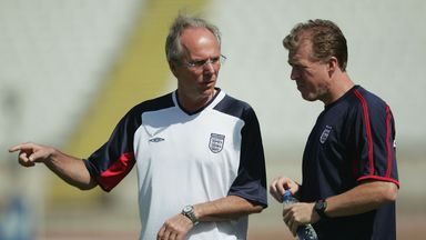 Sven-Goran Eriksson spoke candidly about the state of the national team