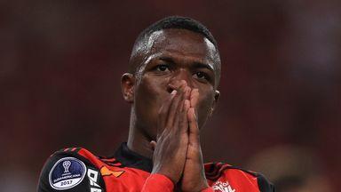 fifa live scores -                               WATCH: Vinicius' sensational double