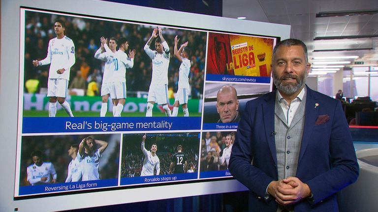 Guillem Balague looks at Real Madrid's ability to raise their game for the big Champions League ties