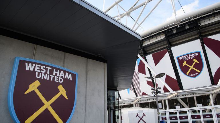 A general view of the London Stadium on November 3, 2016