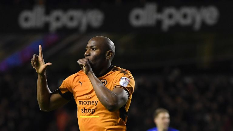 Benik Afobe rejoined Wolves on loan for the second half of last season