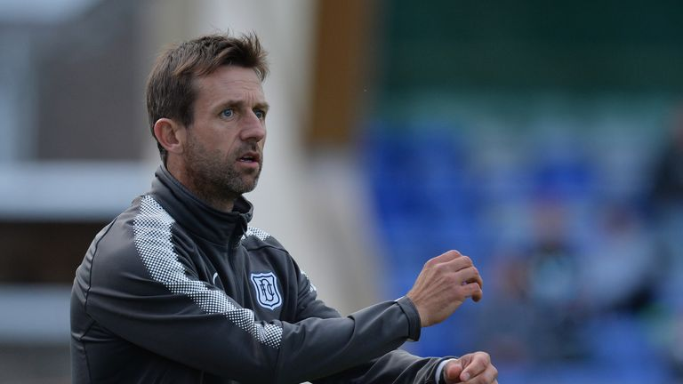 Neil McCann will be missing from the sidelines for Dundee's next two games