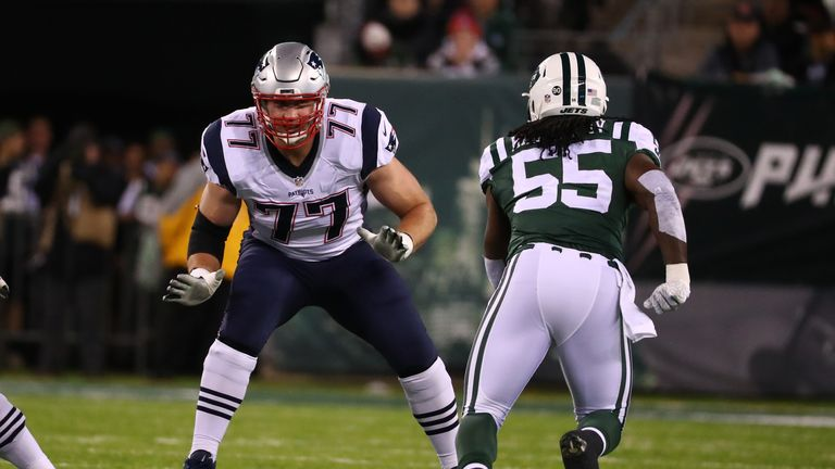 Nate Solder is currently a free agent