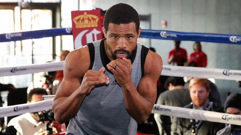 Andre Dirrell is now under the guidance of Virgil Hunter(DiBella Entertainment)