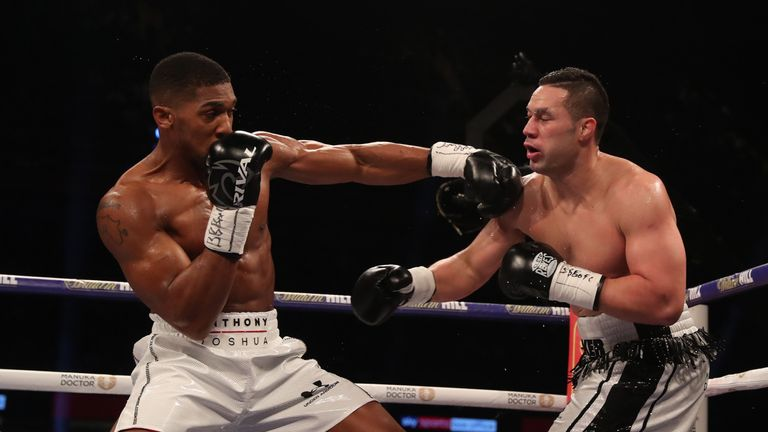 But Joshua regained control to complete victory