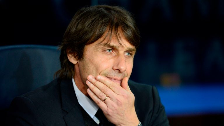 Conte says a Champions League place will be 'difficult' if they lose to Tottenham on Sunday