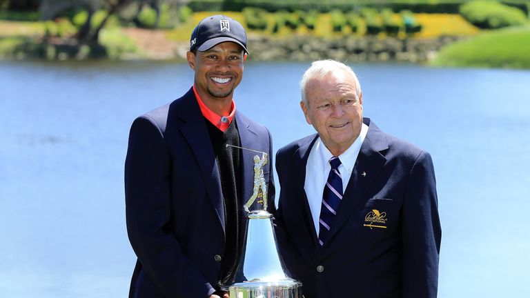 Woods won the Arnold Palmer Invitational in 2000,  2001, 2002, 2003, 2008, 2009, 2012 and 2013