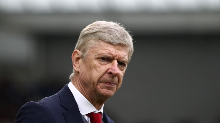 Arsenal are currently sixth in the Premier League - 13 points off the top four