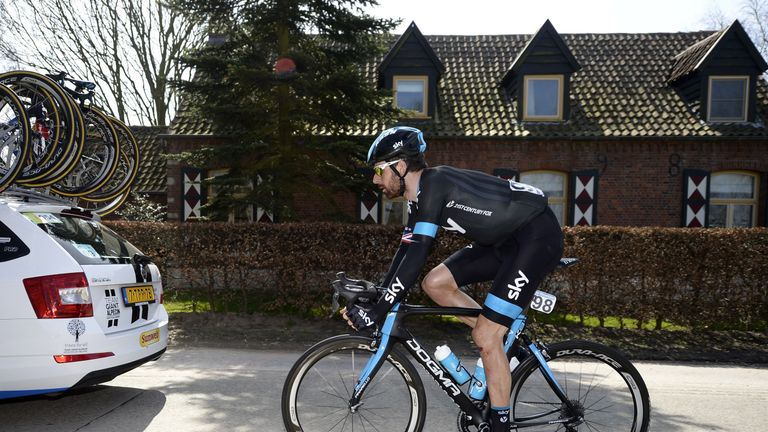 Bradley Wiggins used to ride for Team Sky