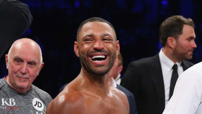Kell Brook has a smile on his face and a glint in his eye again