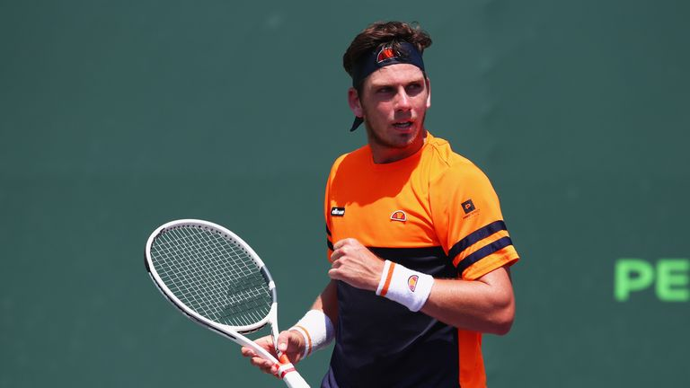 Cameron Norrie is close to breaking into the world's top 100