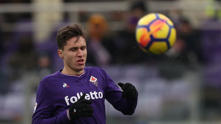 Chiesa has been linked with a move away from Fiorentina