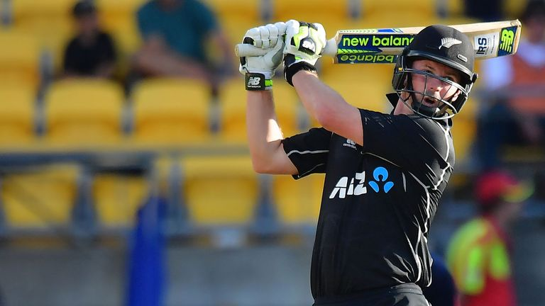Colin Munro is second in the T20 international batting rankings