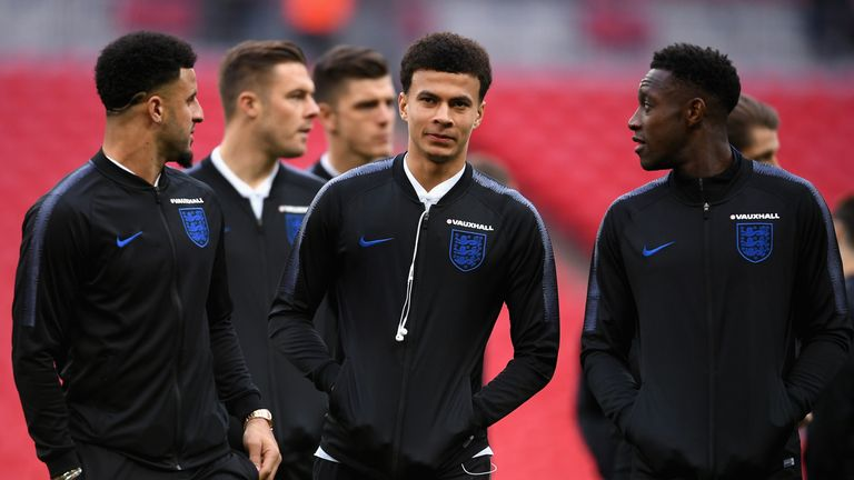 Alli was left on the bench for England's 1-1 draw with Italy