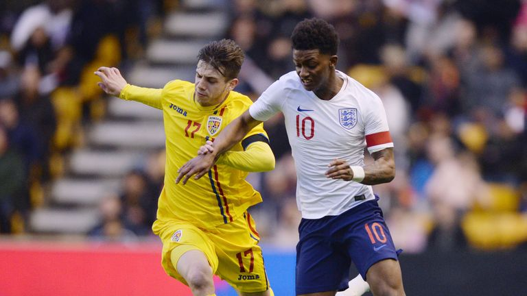 Demarai Gray captained England U21s to a 2-1 friendly victory over Romania back in March