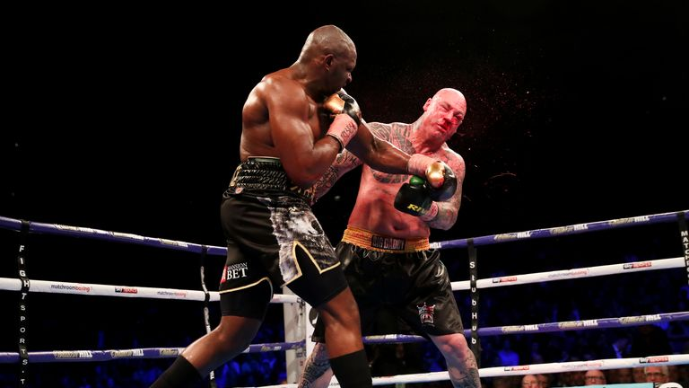Whyte recently KO'd Lucas Browne