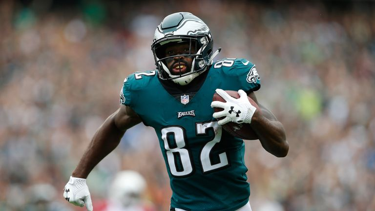 Eagles reportedly trading Torrey Smith to Panthers for a young cornerback
