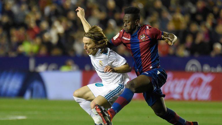 Emmanuel Boateng scored the winner for Levante