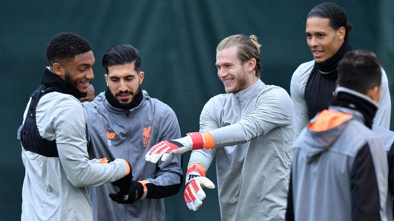 Karius says the morale in the group is high with three weeks until the Champions League final
