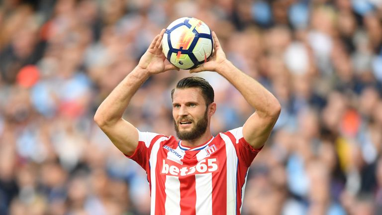 Erik Pieters was left out of the Stoke squad for the match with Everton after breaking a club curfew