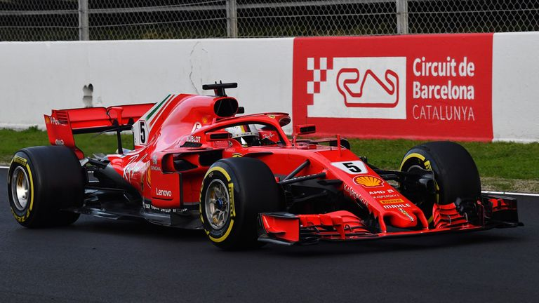 F1 World Champion Lewis Hamilton Has Welcomed Ferrari Setting The Fastest  Time So Far In Winter Testing Amid Rising Expectation Of A Close Fight  Between ...