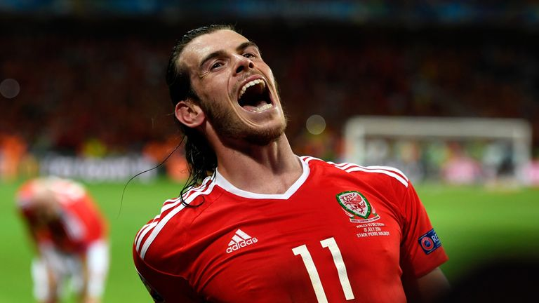 Gareth Bale's Wales are in League B