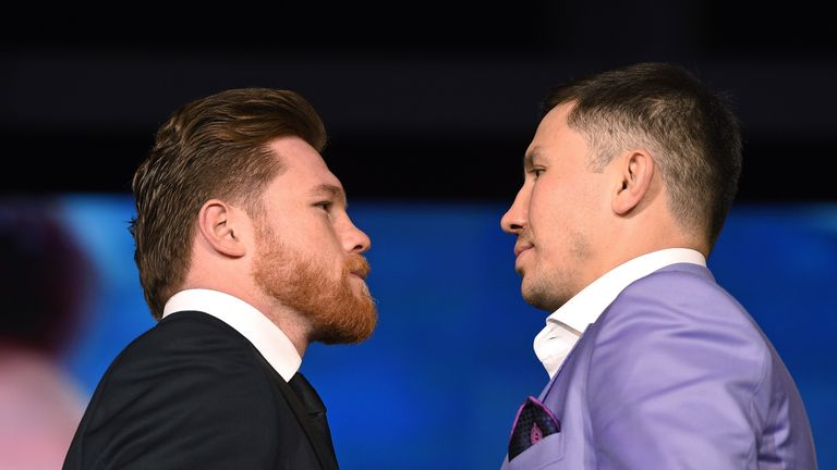 Golovkin is due to face Saul Alvarez on May 5 in Las Vegas
