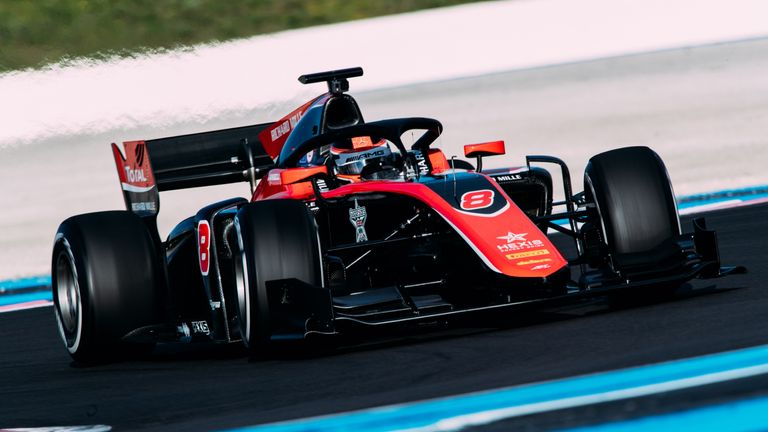 George Russell in action at Paul Ricard
