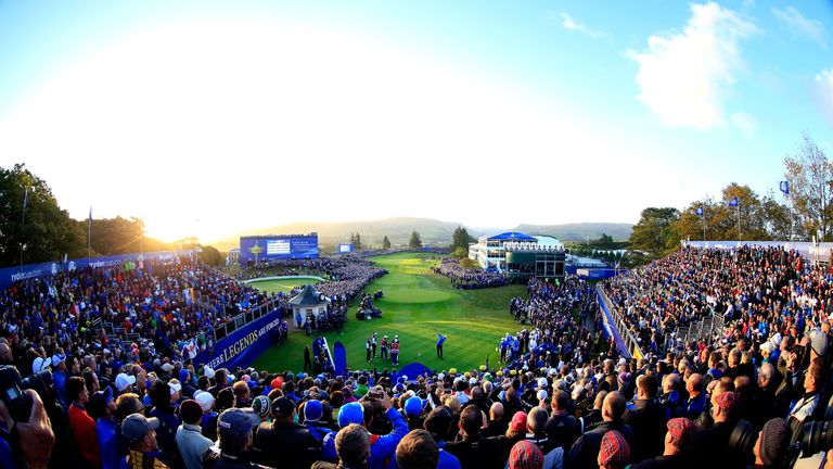 The PGA Centenary course also hosted the 2014 Ryder Cup