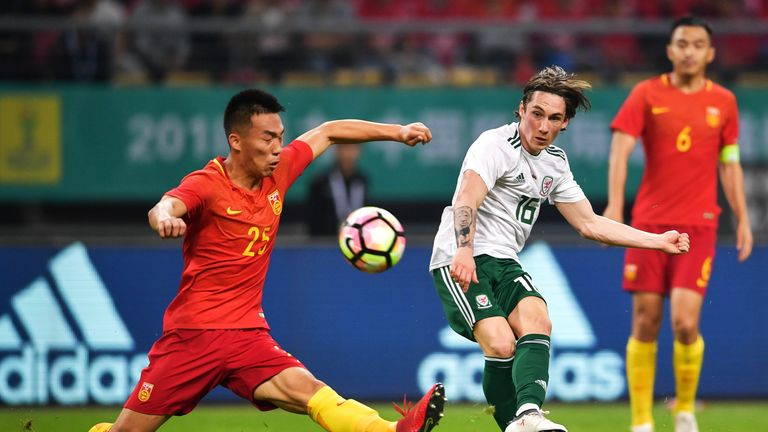 Harry Wilson is Wales' youngest-ever international