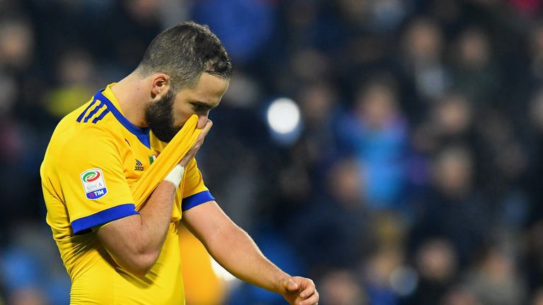 Gonzalo Higuain could not find a way through against SPAL