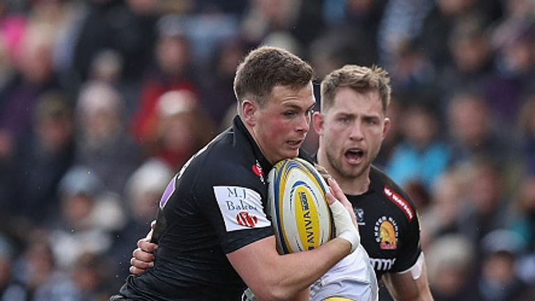 The performance of Joe Simmonds stole the show for Exeter Chiefs