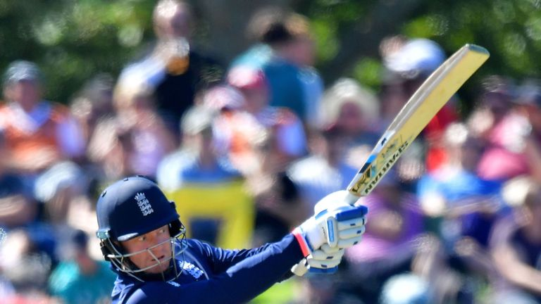 Bairstow averages 61.84 opening the batting for England in ODIs